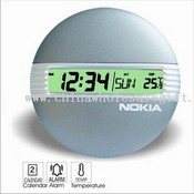 FASHION LCD ALARM CLOCK images