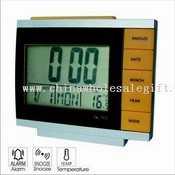 LCD DESK ALARM CLOCK images