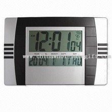 Radio-controlled LCD wall Clock,desk clock images
