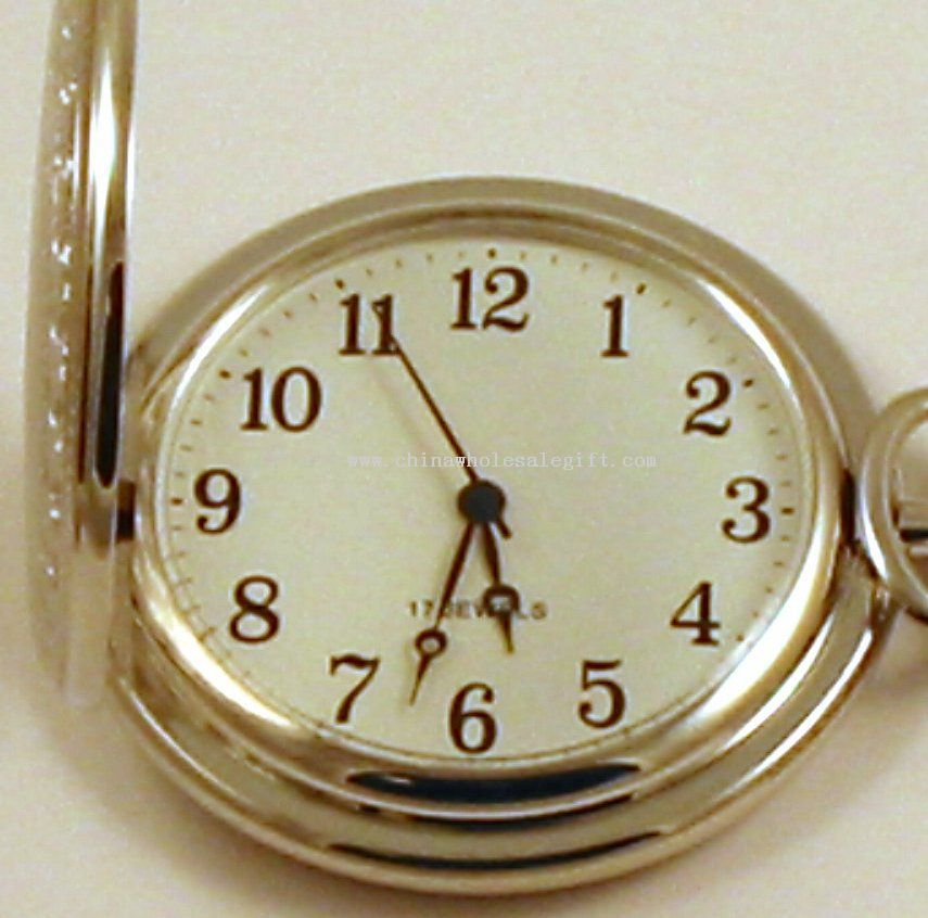 Mechanical Wind Up Pocket Watch