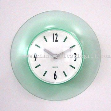 Bathroom Suction Clock