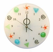 Artistic Glass Wall Clock images