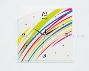 Color wall clock images
