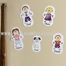 Family Character Magnet