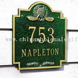 Personalized Gifts - Club Classics Golf Address Plaque