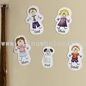 Family Character Magnet images