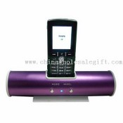 Portable Mobile Phone Charger with Speaker images