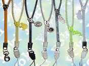 Zipper Hang Strap For Mobile Phone images