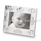 Elegant Silver Picture Frames for Baby Photos images