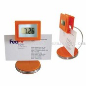LCD Clock with Memo Holder images