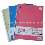 Three-Subject Spiral Notebooks images
