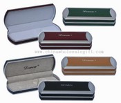 Leather pen box images