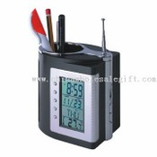 Multifunction FM Radio Pen Holder images