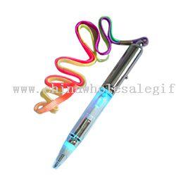 Flashing light pen