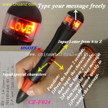 Programmable Message Pen
