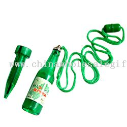 Beer bottle pen