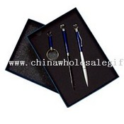 Promotion pen sets includes keychain Letter opener pen images