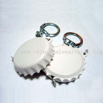 key ring tape measure bottle cover shape