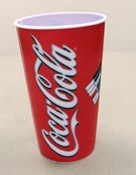 3D Lenticular Advertising Cup images