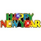 happy new year pin necklace images