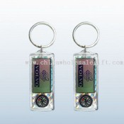 Solar Keychain W/ compass images