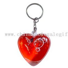 Two heart keychain images