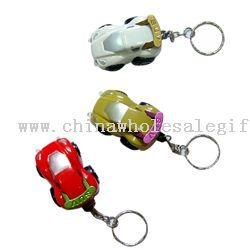 Car shaped keychain