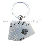 Playing card keychain images