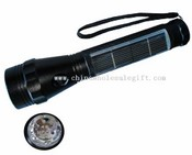Ultra bright solar LED flashlight images