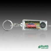 Solar Key Chain with Compass images