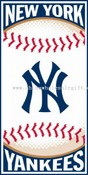 New York Yankees 30x60 Beach Towel images