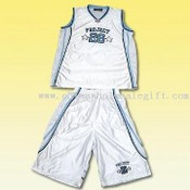Polyester Basketball Jersey Set images