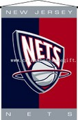 New Jersey Nets Wall Hanging images