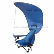 beach chair with the sun shade images