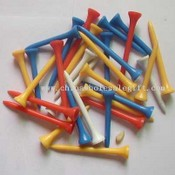GOLF PLASTIC TEE images