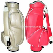 Luxury PU Leather cart bag images