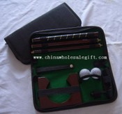 PU Bag Or Leather Bag Executive Office Golf Putter Set images