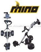 Rhino Electric golf trolley images