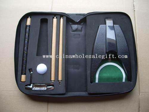 Executive Auto Electronic Putting Cup Golf Set