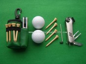 Golf Tool Gift Set mit dem Golf Club Zipper images