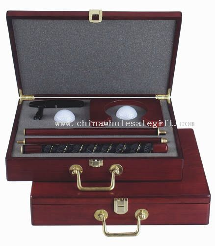 Office Wood Case Golf Putter Set As Golf Gifts And Premiums