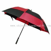 Safe hand open fiberglass golf umbrella images