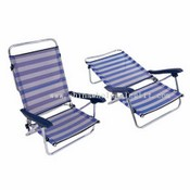 Muti-adjustable beach chair images