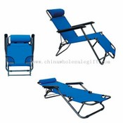 Special camping chair with two adjustable position images