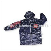 Mens pvc rainjacket with cocacola logos images