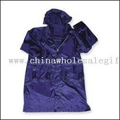 Naylon/PVC uzun Rainjacket images