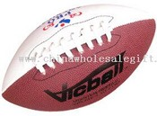 Synthetic leather cover Rugby Ball images