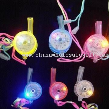 Attractive Flashing Whistle Necklaces