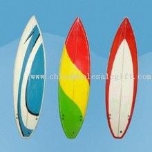 Colorful Retro Style Surf Boards images