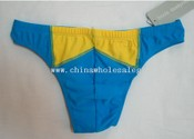 Bods Swimming Trunks Japanese-cut Blue/Yellow 34-35 images